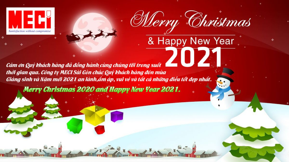 Meci- Merry Christmas 2020 and Happy New Year 2021